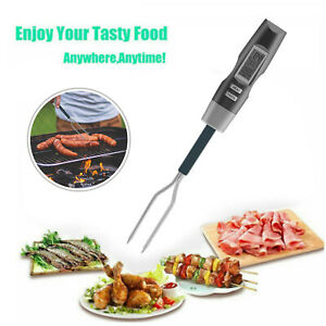 Digital Kitchen BBQ Grill Food Meat Thermometer Barbecue Camping Cooker Skewers