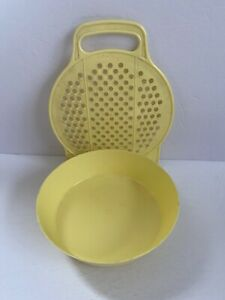 Vintage HUTZLER Cheese Grater Shredding Grating Tool 716 With Catching Bowl!