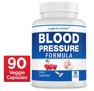 Best High Blood Pressure Pills Natural BP Lowering Healthy Dietary Supplement