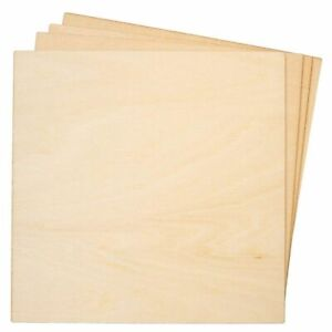 8 Pack Basswood Plywood Thin Sheets for Wood Burning Laser Cutting 1 8quot;x 6quot; $10.99