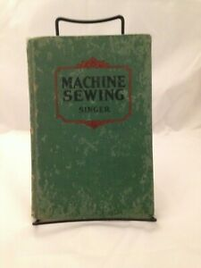 Machine Sewing Singer 1924 Care amp; Use Home Eco Teacher 2nd Printing AS IS 200501 $109.95