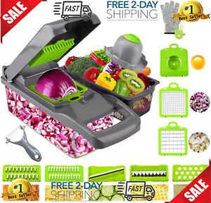 Onion Chopper Swongar Pro Multiple Vegetable Chopper Cheese Grater Durable Fruit