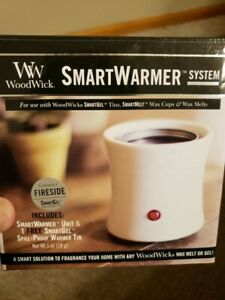 WoodWick SMARTWARMER SYSTEM for use with SmartGel & SmartMelt NEW