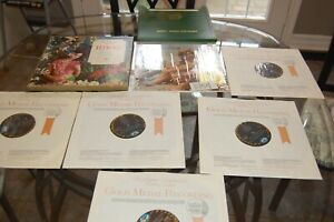 Lot of 6 LP'Melodies From Paradise 5 LP box set & Lure of Hawaii 33rpm records