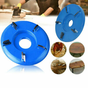 5 Teeth Wood Carving Disc Tool Milling Cutter for Opening Aperture Angle Grinder
