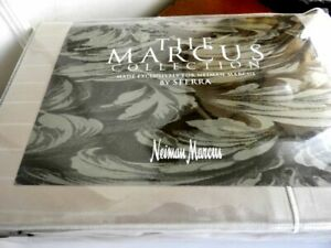 Sferra MARCUS STRIPE KING Sheet Set 400 TC Pima Cotton Sateen TAUPE - NEW!