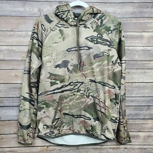 Under Armour Storm Womens Cold Gear Green Camo Pullover Hoodie Jacket Medium $24.00