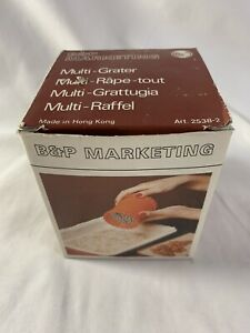 B & P Marketing ~ Multi-Grater