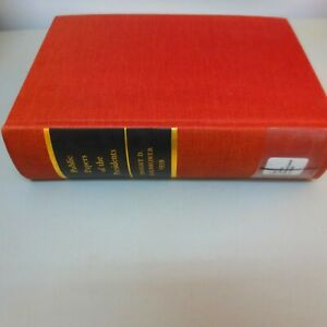 Public Papers of the Presidents Dwight D. Eisenhower 1959 Vintage Hardcover