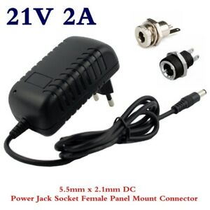 21V Electric Screwdriver 18V 5S Wall Charger 2A Lithium Battery Charger