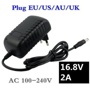 16.8V Charger 2A Drill Screwdriver 4Series 18650 14.4V Lithium li-ion Battery