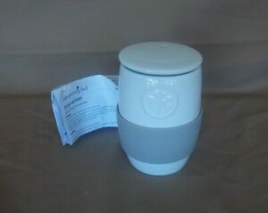 The Pampered Chef Ceramic Egg Cooker #1529 Microwave Scrambled Eggs  Oatmeal
