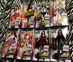 BARBIE STARDOLL 2011 MATTEL COMPLETE SET 8 DOLLS BRAND NEW IN SEALED BOX