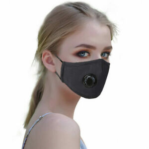 Face mask with filter, reusable and washable cotton face mask with filter pocket
