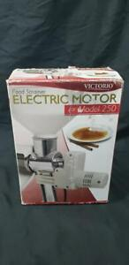 PARTS ONLY - VICTORIO Food Strainer Electric Motor for Model 250 Item VKP250-M