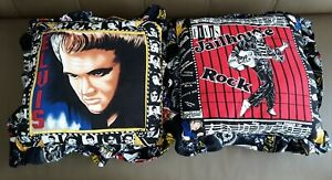 2 Elvis Presley Pillows Approx 18