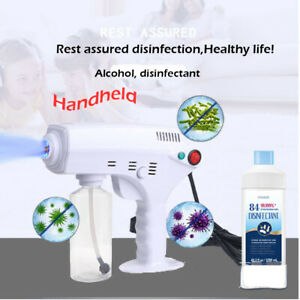 Small Electric ULV Sprayer Fogger Cold Fogging Machine Disinfection Office Car