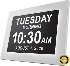 American Lifetime, Newest Version, Day Clock Extra Large Impaired Vision Digital