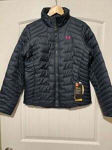 NWT UNDER ARMOUR Women's Breast Cancer Power Pink REACTOR Jacket 1303113 S $199 $69.00