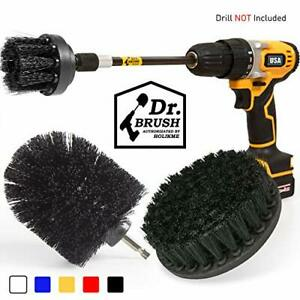 Drill Brush Power Scrubber Cleaning Brush Extended Long Attachment Set of 4