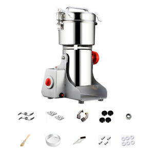 Electric Grain Spices Cereals Coffee Dry Food Mill Grinding Machines New S4H0
