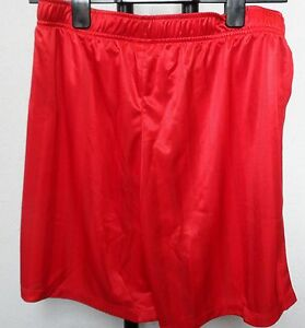 RED DRY FIT SHORTS BY NIKE SIZE MENS LARGE BRAND NEW WITH TAGS GBP 14.99