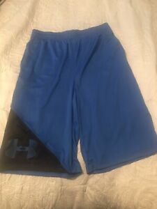 Under Armour Youth Shorts Size XL Blue Brand New!!! $16.50