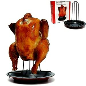 BBQ Chicken Grill Stand Holder Rack for Oven Roasting Kitchen Tools Outdoor