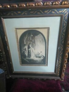 REMBRANDT Etching 1632 quot;The Raising of Lazarusquot; Larger Plate beautiful Framed $6500.00