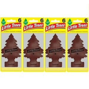 Little Trees 6's Leather (Pack of 24)