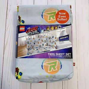 The Lego Movie 2 - Sheet Set ~ NEW Twin Size 3 Pc