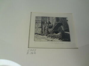 JOHN TAYLOR ARMS....AMERICAN....1887 1953 #x27;PLUMED SERPENTquot; ETCHING $175.00