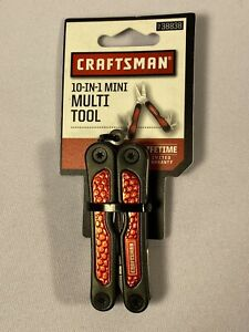 Craftsman 10-in-1 Mini Multi Tool 938838 820909780007 New Pocket Tool Red