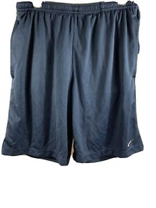 Men's Nike Fit Dry Navy Blue Lined Running Shorts Size Small $13.95