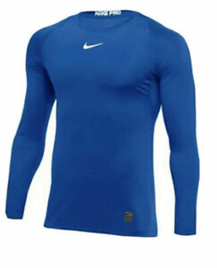 New Nike Pro Dri Fit Shirts Short or Long Sleeve Mens Size Small $19.99