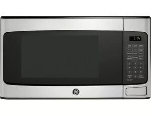 General Electric GE 1.1 Cu. Ft. Countertop Microwave Oven Stainless JES1145SHSS