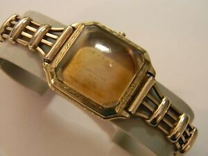 VINTAGE HAMILTON FAHY#x27;S 14K GOLD FILLED ART DECO MENS WATCH CASE BAND $69.00