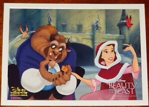 Beauty And The Beast 25th Anniversary Disney Movie Club Lithograph $9.99