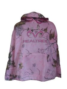 PINK REALTREE XTRA COLORS COLLECTION CAMO HOODIE