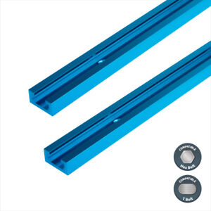2pcs Double Cut Profile Universal 36quot; T Track Pre drilled Mounting Holes 71119 $24.99