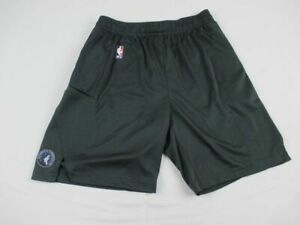 Minnesota Timberwolves Nike Shorts Mens Gray Dri Fit New Multiple Sizes $22.00
