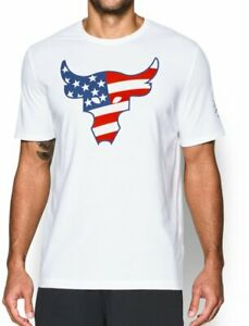 Men's Under Armour Freedom Rock the Troops T Shirt #1308734 Size XL $29.98
