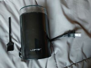 Lofter Portable Spice Nut Coffee Grinder Black Used Once Open Box