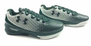 New Under Armour Men's US 9 Basketball Shoes ClutchFit Drive 3 Low Green 1274422 $48.75