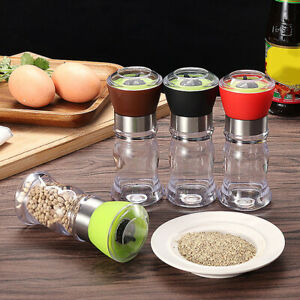 Grinder Hand Movement Mill Pepper Ceramics Salt And Pepper Kitchen