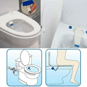 Clean Clear Rear End Bidet Butt Wash Washer Adjustable Fresh Water Spray Toilet