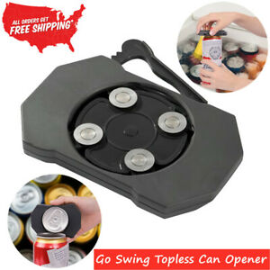 NEW Go Swing Topless Can Opener Professional Strong Heavy Kitchen-1/2PCS