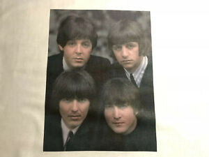 1 Beatles Quilt Block Younger quot; Sewing Square John Paul George Ringo Music $12.99