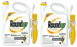 Lot of 2 - ROUNDUP 5L Pull N Spray Poison Ivy and Brush Control Herbicide