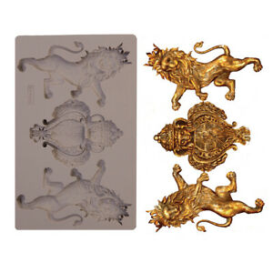 ROYAL EMBLEM - RE-DESIGN Prima Decor Moulds Molds Food Safe Silicone #647414